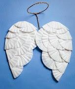 DIY Angel Wings For Halloween
