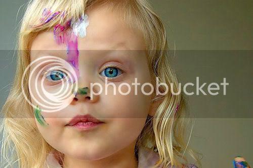 Fotografías de niñas y niños traviesos