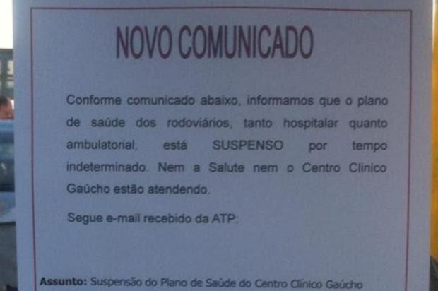 Sem avançar em negociações, rodoviários têm plano de saúde suspenso Manoel Soares/RBS TV