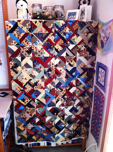 IMG_6415 Scrappy Not-Really-A-Jelly-Roll Quilt