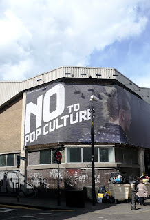 No to pop culture