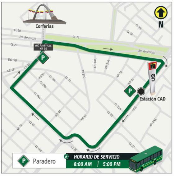 Mapa De Rutas Transmilenio Bogota