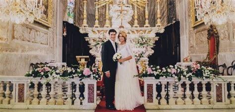 Catholic Wedding in Italy   A Taste Of Beauty