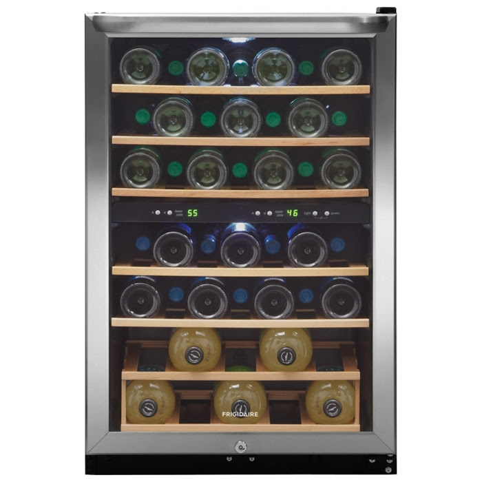 Frigidaire 38 Bottle Free Standing Wine Cooler Pcrichardcom