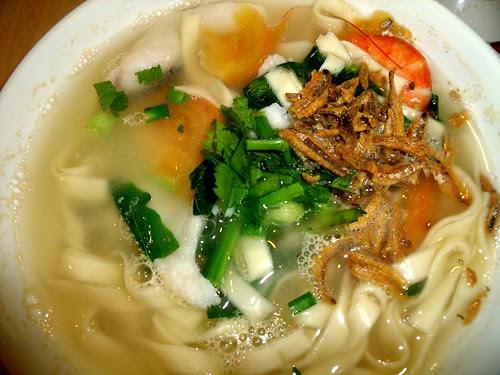Seafood Flat Noodle