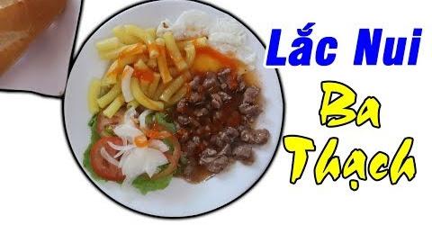 Review Lắc Nui Ba Thạch | Du Lịch Ăn Uống An Giang #13