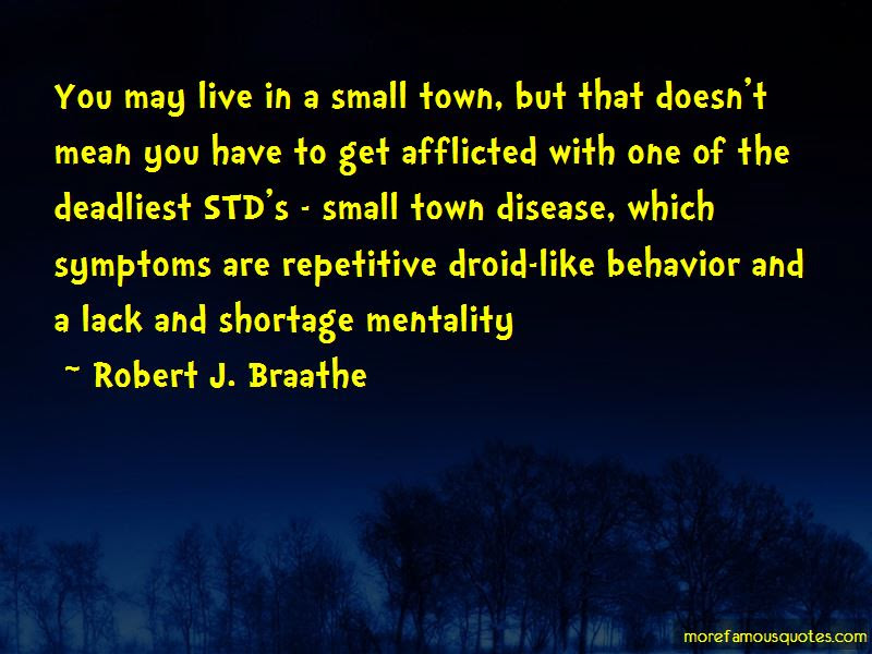 Quotes About Small Town Mentality Top 4 Small Town Mentality Quotes