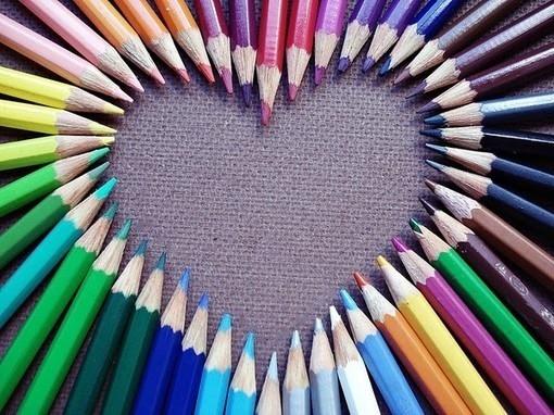 Capas para Facebook - Lápis de cor