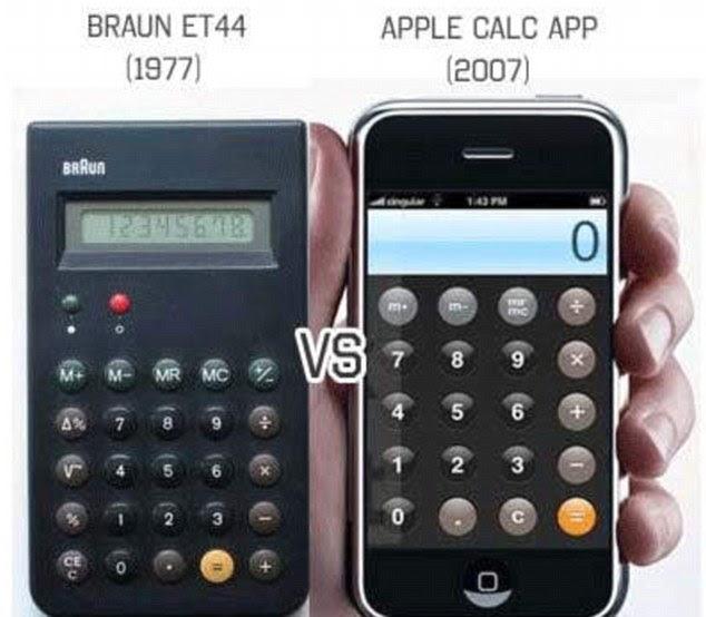 iPhone dan iPod Contek Produk Braun