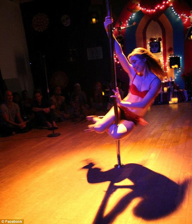 Performer: Lindsay Mills performs in the Waikiki Acrobatic Troupe and in dance shows in Hawaii