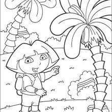 Dora La Exploradora Dibujos Para Colorear Lecturas Infantiles