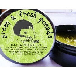 Sheabutter Cottage/Cioccolatina - Green & Fresh Pomade - Size 75g