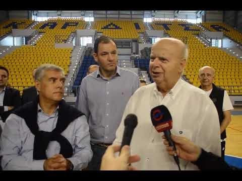 Βασιλακόπουλος: «Θα φέρουμε την Εθνική ομάδα στην Καρδίτσα»-Δείτε τις δηλώσεις του προέδρου της ΕΟΚ