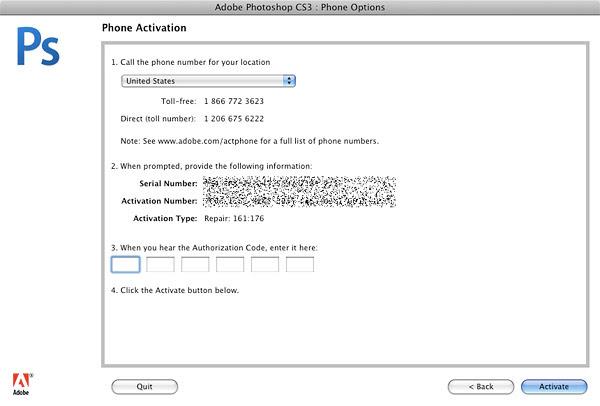 Adobe Photoshop Cs3 Code Generator