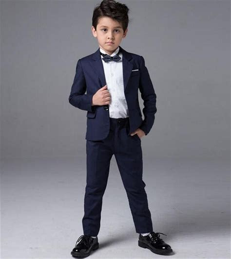 Cheap Custom Made Boys Suit Flower Children's Clothes Get