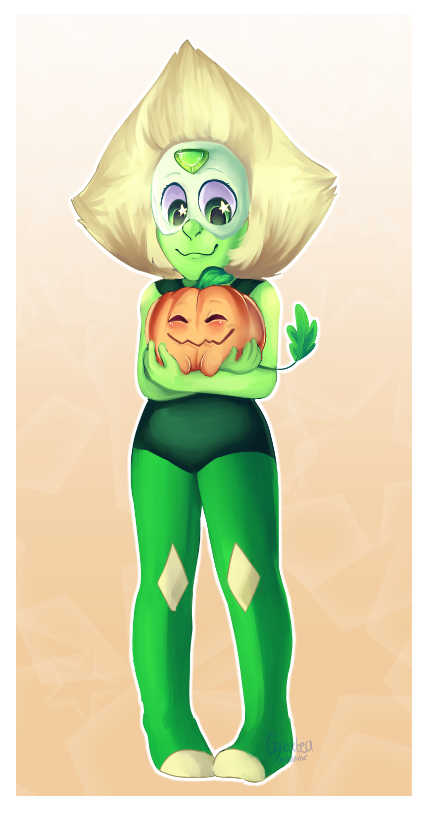 Peridot and her Pumpkin