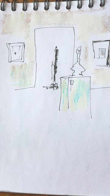 Dibujando Giacometti