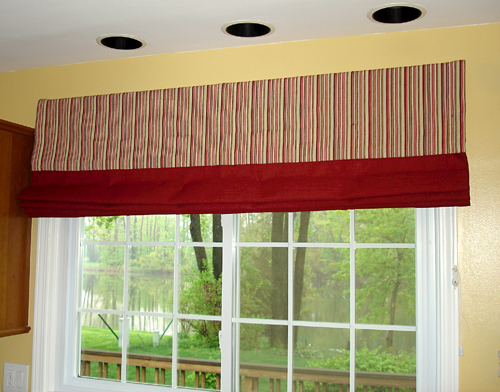 Two Different Window Treatments In The Same Room Susans Designs