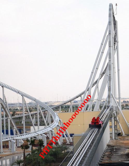 The Fastest Roller Coaster at Ferrari World - Abu Dhabi | Maproute Travel Blog