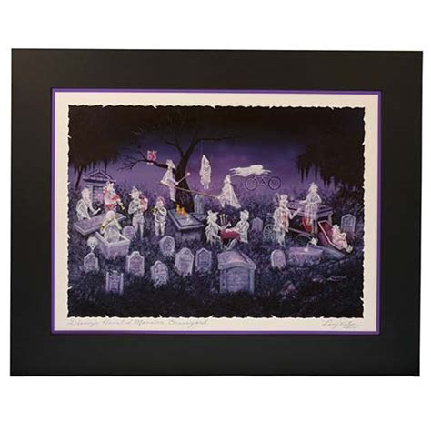 Disney Artist Print   Larry Dotson   The Haunted Mansion