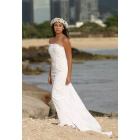 Traditional Hawaiian Wedding Dress