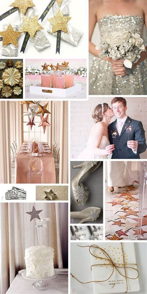 Star Moodboard. Stars are a great theme for weddings