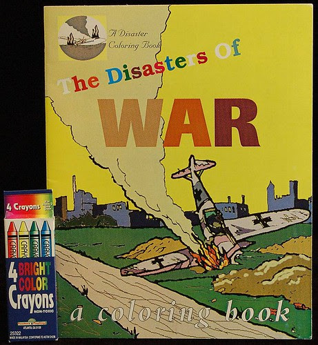 Disasters of war - a coloring book by Oli Watt, 1997