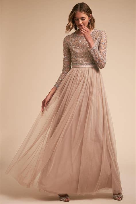 Wedding Guest Dress Ideas: Long Sleeve Dresses   Inside
