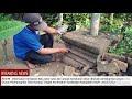 Di Kuburan Tua Kediri, Batu Kuno Peninggalan Kerajaan Ditemukan