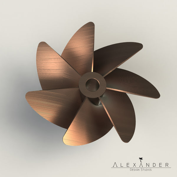 boats - Performance Boat Propeller Set by Alexander Design Studios