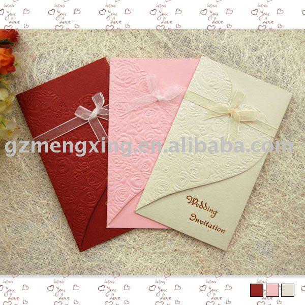 W002 pretty handmade wedding invitations US 14533 US 14800 lot