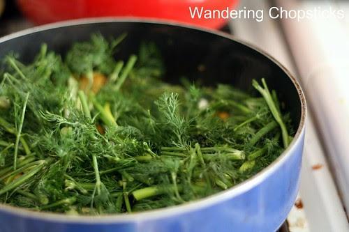 Cha Ca Thang Long (Vietnamese Hanoi-style Turmeric Fish with Dill) 9