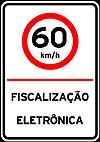 Placas de Fiscalizaçao eletronica 2