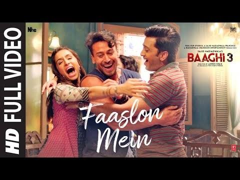 Faaslon Mein Song Lyrics    Tiger Shroff, Shraddha Kapoor   Sachet-Parampara