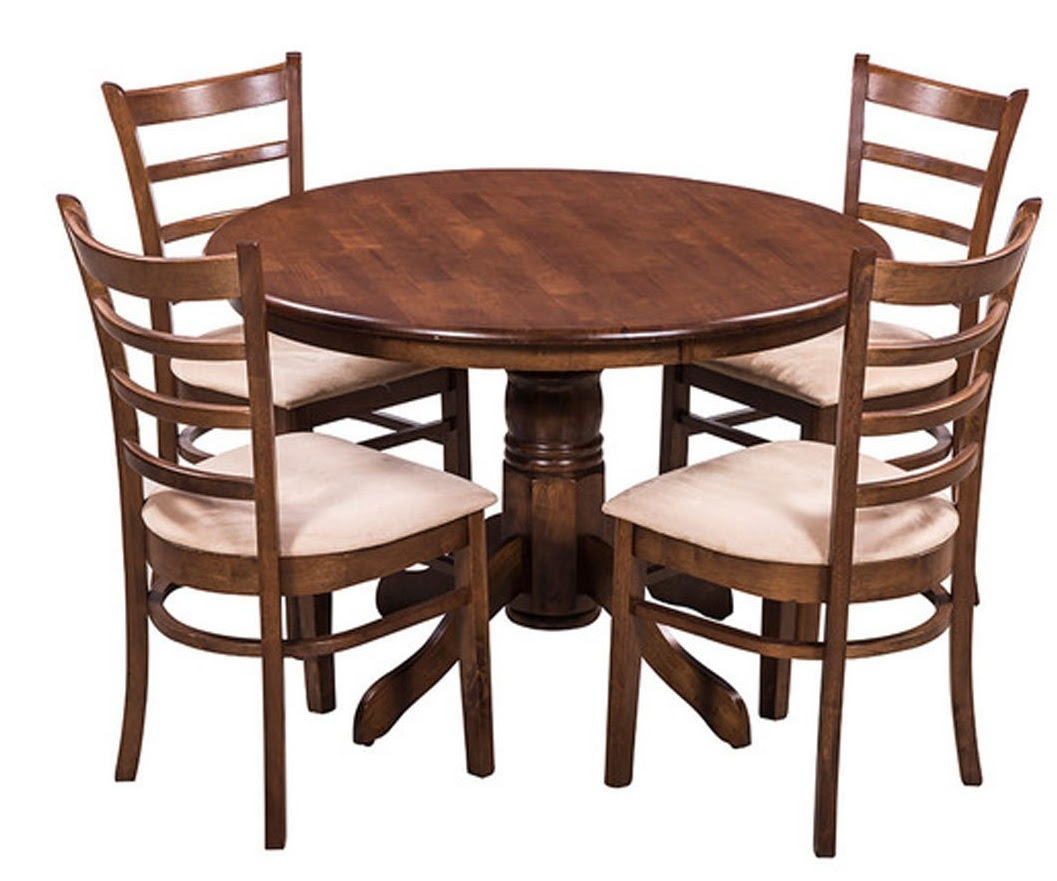 Amazon  Buy Royal Oak Coco Dining Table Set with 4 Chairs Brown for Rs.1424956% off