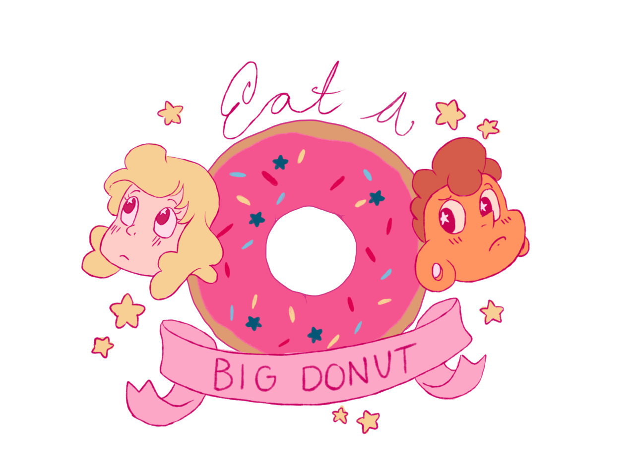 A sticker for The Holidays 2016! or for anytime, because donuts are always good. Redbubble