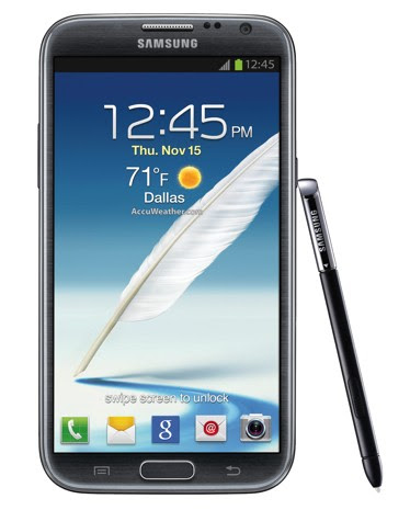 Samsung Galaxy Note II for TMobile made official, comes with gamepadoptimized racing