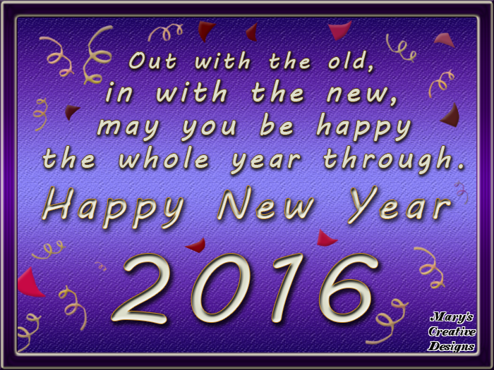 Out With The Old In With The New Happy 2016 Pictures Photos And