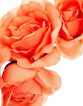 Image 3 ofASOS Pastel Flower Hair Garland