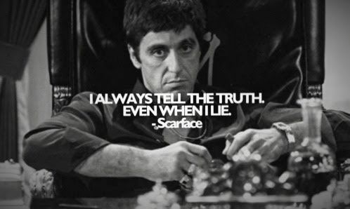 Quote Black And White Quotes Gangster Gangsta Scarface Al Pacino