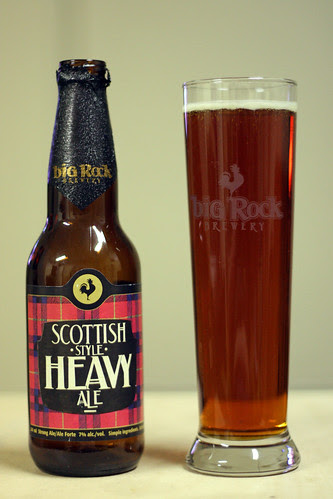 Review: Big Rock Socttish •Style• Heavy Ale by Cody La Bière