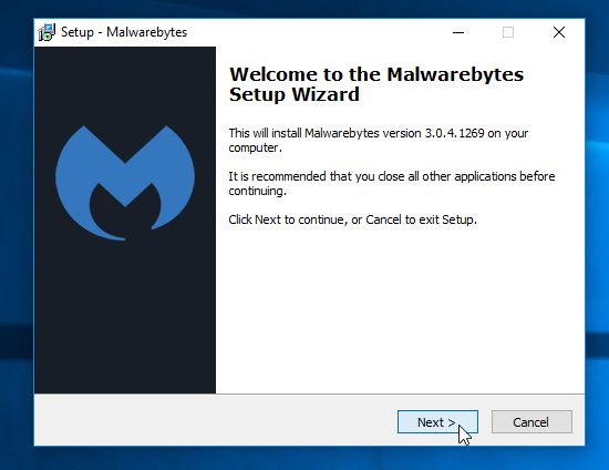 Malwarebytes Anti-Malware Installer