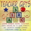 Teacher Gifts Link Party