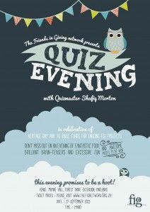 Quiz Night poster | Flyer Ideas | Pinterest | The o