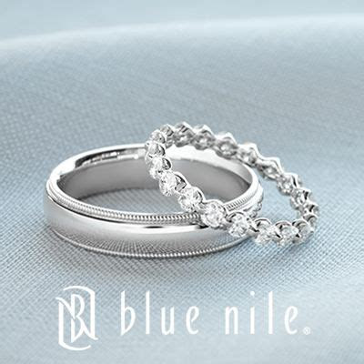 His and hers wedding bands from #BlueNile. That band would
