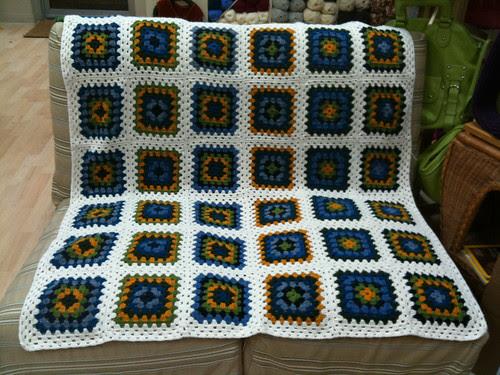 Granny's Monster Blanket