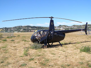 ZK-HKP - Robinson R44 Raven on a private trip back to Taupo