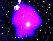 Una galassia ripresa da Rosat