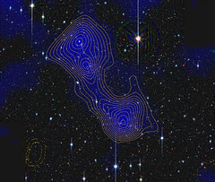 Abell 222 & Abell 223 with dark matter filament