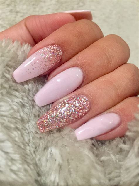 luxury rose gold acrylic nail designs fitnailslover
